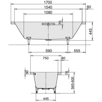 kaldewei steel bath installation instructions