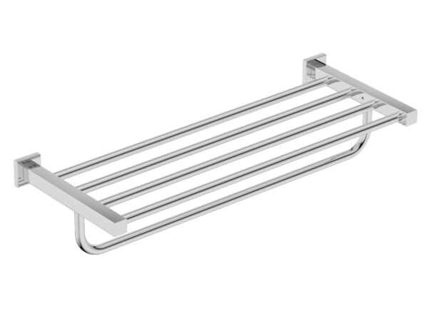 BATHROOM BUTLER 8593 Towel Shelf + Hang Bar 650mm v2.0